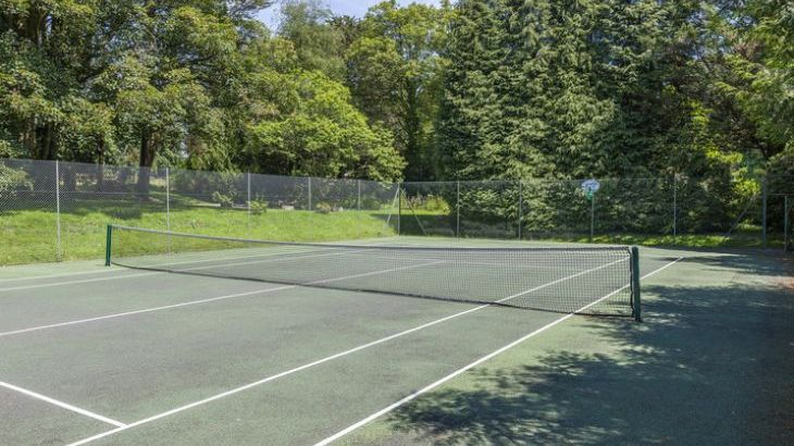 all weather tennis courts