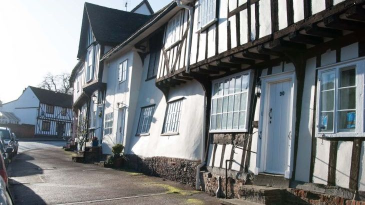 Lavenham is our local village