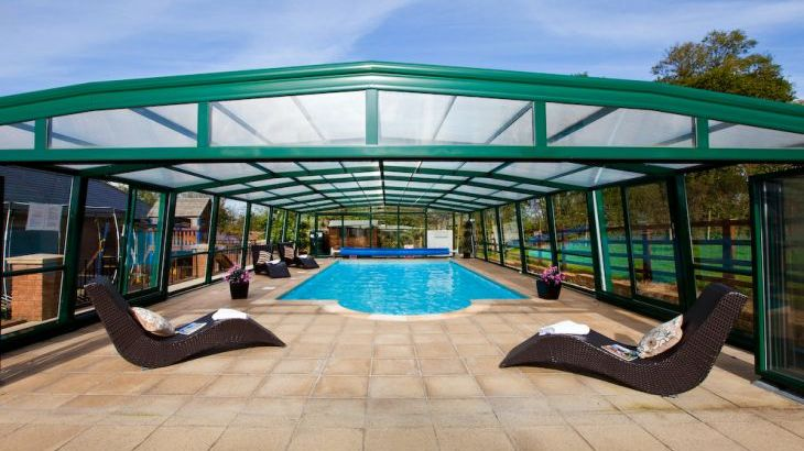 holiday cottage with indoor swimming pool