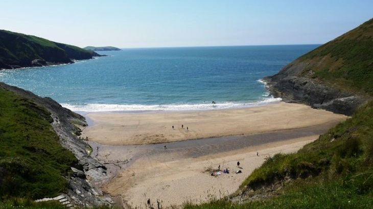 Mwnt Beach  one of the gorgeous beaches to explore