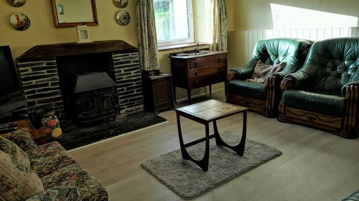 Hafod Villa sitting room has wifi