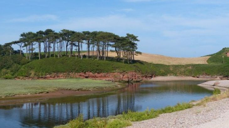 Alpine Park Cottages only a short drive to Budleigh Salterton