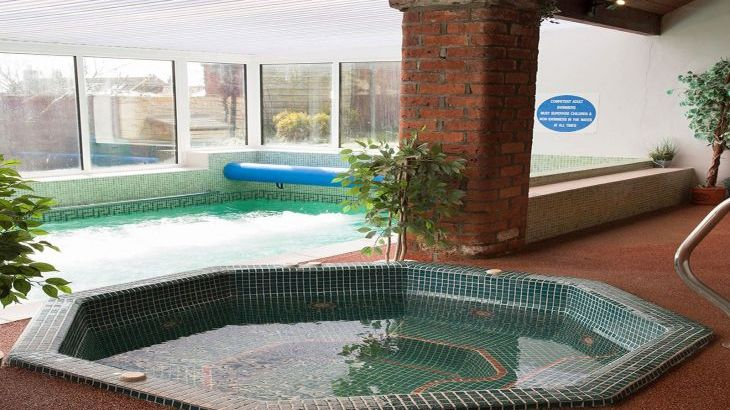 Jacuzzi in the swimming pool complex Pickering Yorkshire