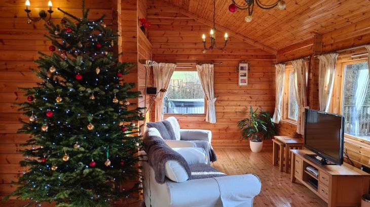 Lodge at Christmas 2020