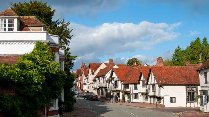 Lavenham is our nearest village and is England's best preserved Medieval village