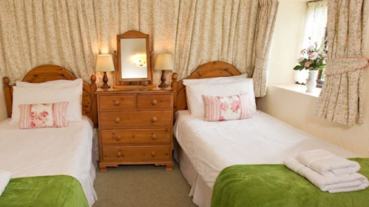Cider House Twin Bedroom