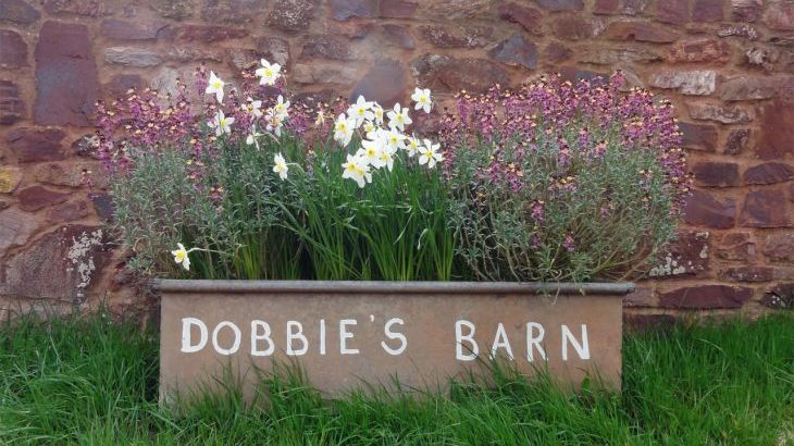 Dobbies Barn holiday home Paxton Somerset