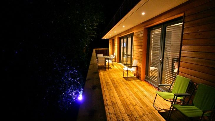 Deck At Night & Mood Lighting
