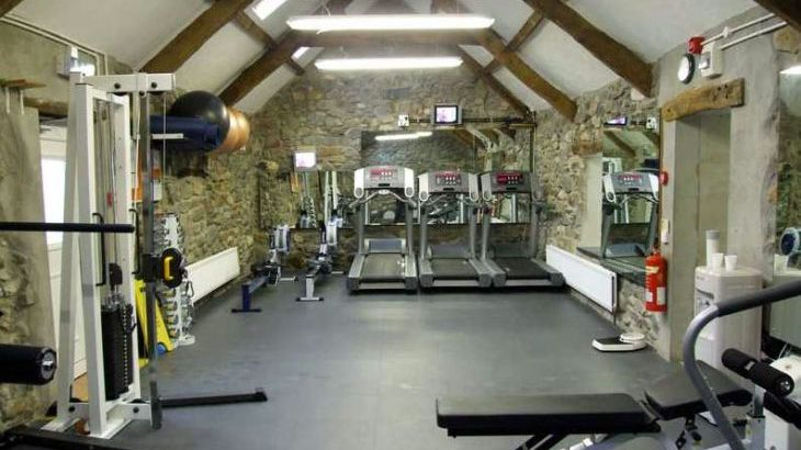North Wales holiday cottages with a gym