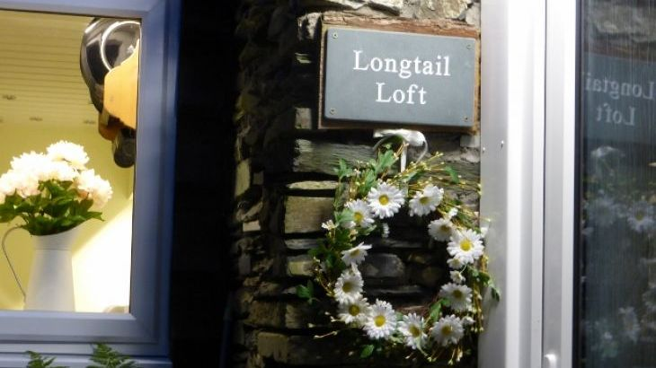 Private entrance & off-road parking at Longtail Loft