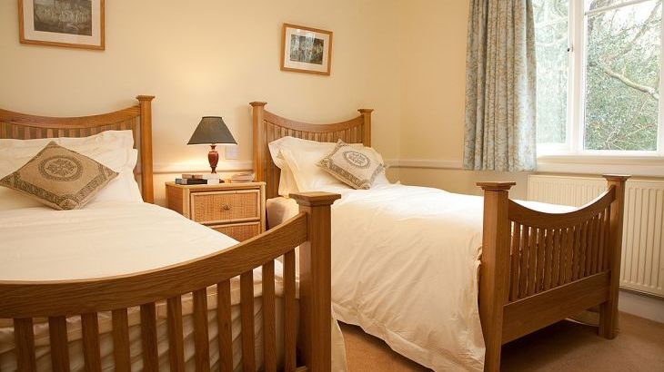 Blackdown Cottage Twin Bedroom