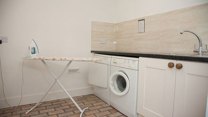 Utility Room at this 2 Bedroom Cottage