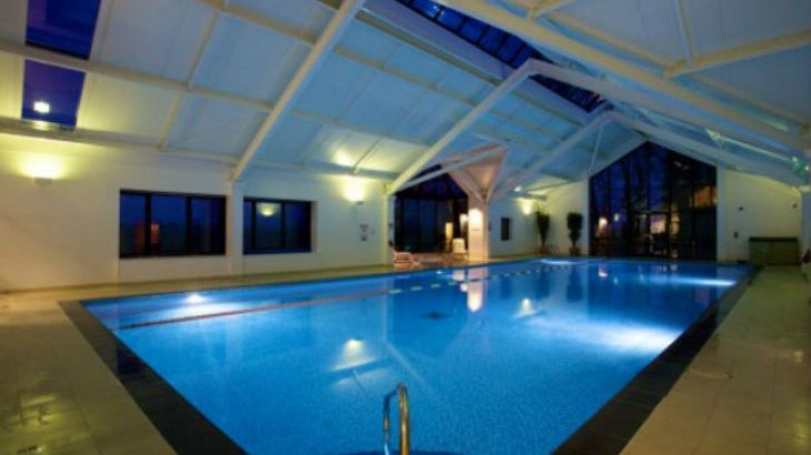 Swimming pool at nearby Highbullen Hotel Golf and Country Club
