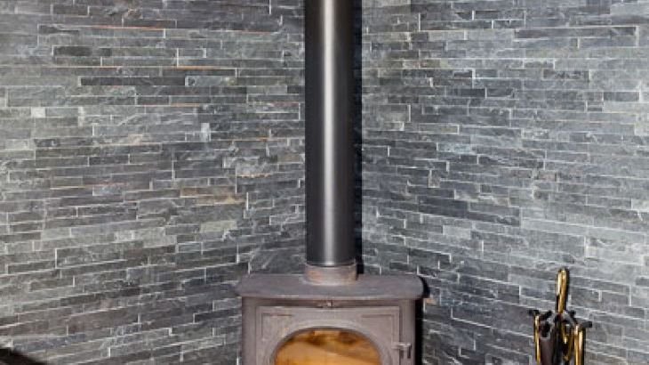 Woodburning Stove at 2 Eden Cottage