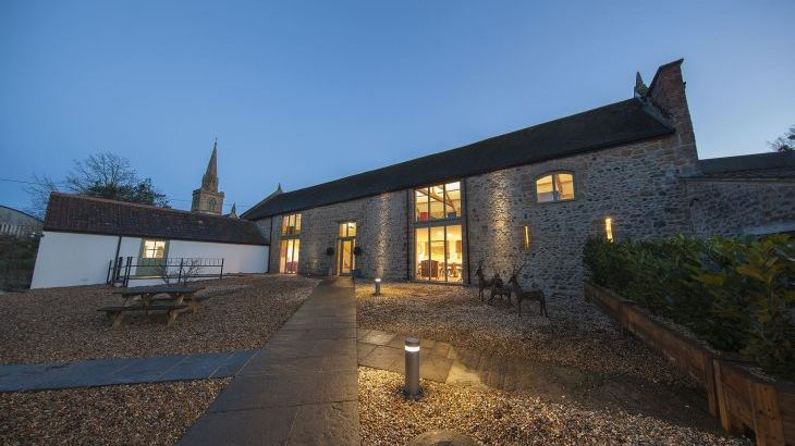 Barn Conversion in Somerset Sleeping 20 - 30 guests with exclusive use of indoor pool, sauna, hot tub, games room, cinema room and BBQ Lodge