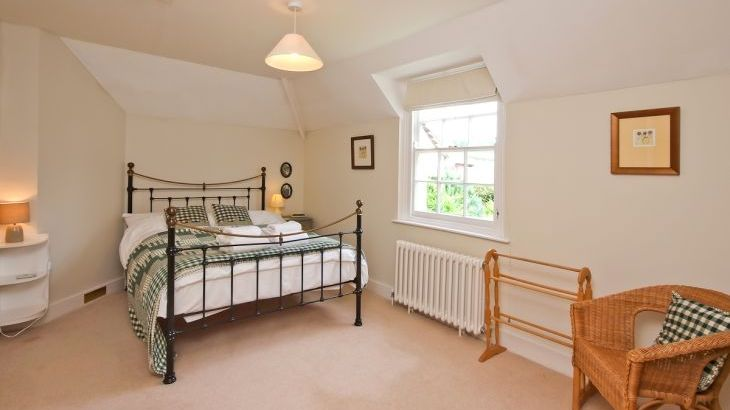 Double bedroom at Ludlow Manor House