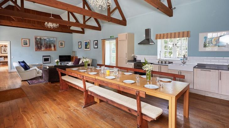 Luxury large group accommodation