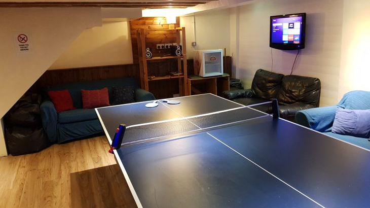 ALternative view of the games room