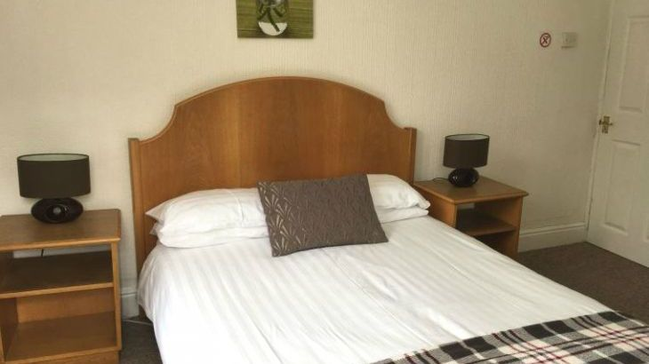Double bed with en suite