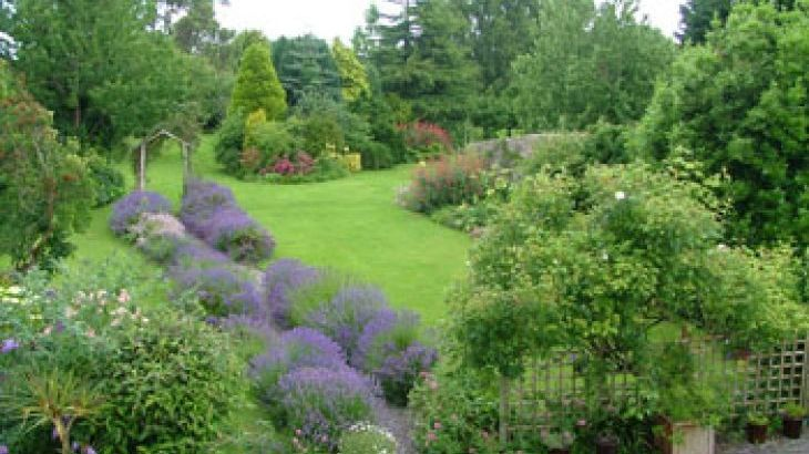 beautiful gardens to relax in on your holiday in Somerset