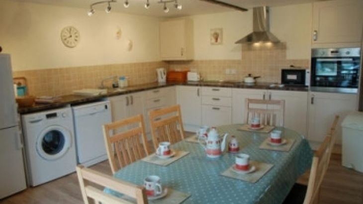 Kitchen in Harvest Cottage