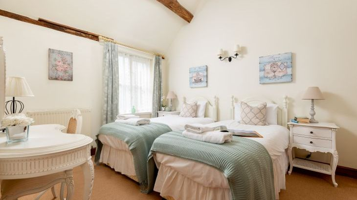 The Cowshed twin room