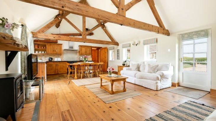 The Byre sitting room