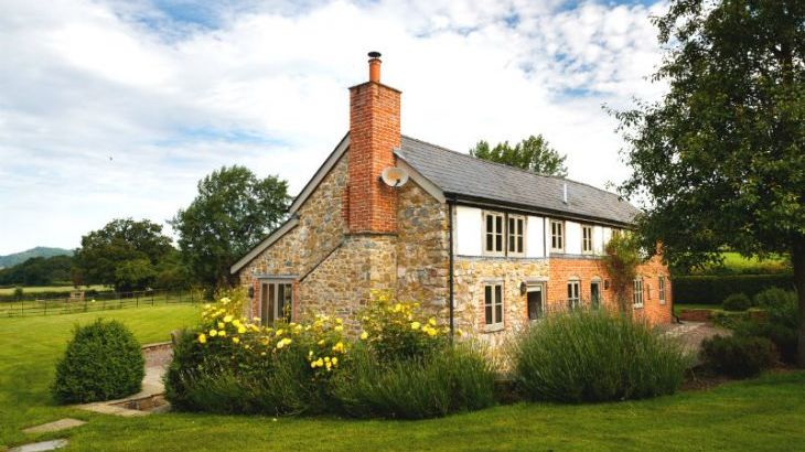 Holiday cottage in the Wye Valley