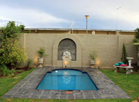 luxury 5 star self-catering with swimming pool