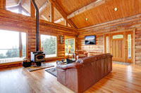 luxury log cabin self catering holidays