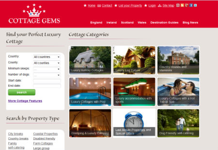 Cottage Gems - Luxury Holiday Cottages