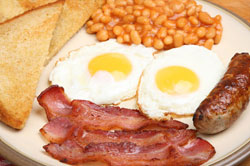 short breaks where you prepare your own breakfast in self-catering accommodation