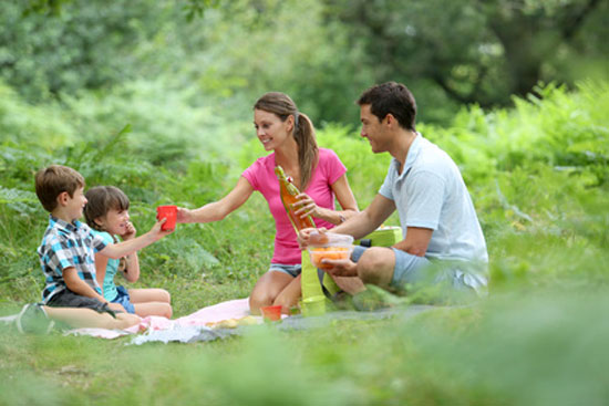 family budget self-catering holidays