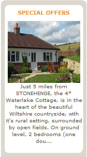 Special deals on cottages